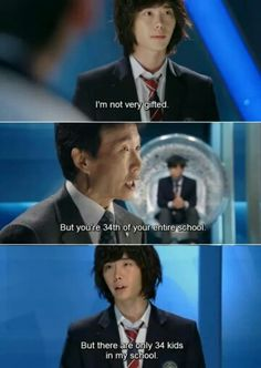 Choi Dal Po and Choi Young Do ARE related... In being smart but last place in class (Pinocchio/Heirs comparison)
