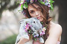 thème de mariage et idée de fête pour le printemps