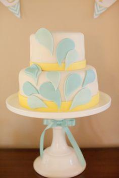 Cake at a Summer Party #summer #partycake