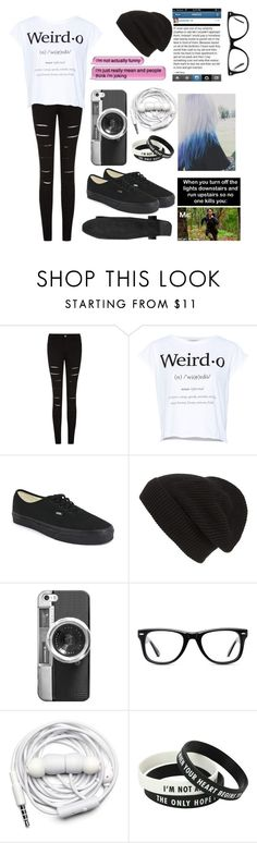 """Untitled #98"" by passenger-s ❤ liked on Polyvore featuring Pull&Bear, Vans, Phase 3, Casetify, Muse and Urbanears"