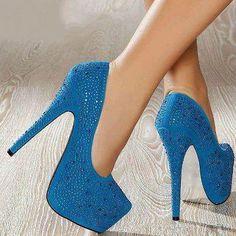 azul....