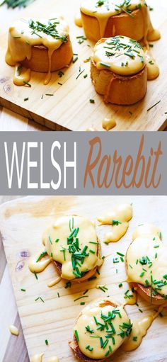 Welsh Rarebit is an amazing cheese sauce made with a nutty roux, beer, sharp cheddar, mustard, nutmeg and a pinch of cayenne.This cheesy goodness is drizzled over toasted bread, extra cheesiness for me please!  This easy and tasty recipe is traditional pu