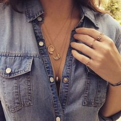 Love @elisabethbelljewelry #elisabethbell #Layer #Love #ROSEARK