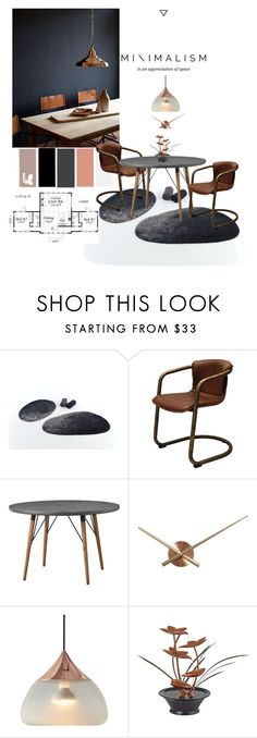 """""""Minimal Dining"""" by jesking ❤ liked on Polyvore featuring interior, interiors, interior design, home, home decor, interior decorating, Abyss & Habidecor, Lene Bjerre, NeXtime and Universal Lighting and Decor"""