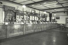 Casino Railway Refreshment Room Interior ~ 9/07/1947