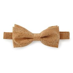 Look what I found at UncommonGoods: Natural Cork Bow Tie for $38 #uncommongoods