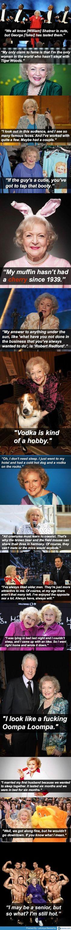 The amazing Betty White   Memez.com