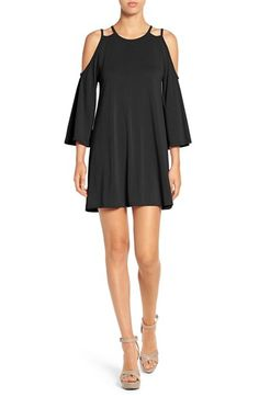 Free shipping and returns on BP. Cold Shoulder Knit Dress at Nordstrom.com. Strappy and shoulder-baring, this swingy knit dress is cut with abbreviated bell sleeves.
