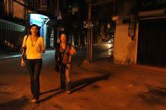 Walking on streets  #Hanoi by night