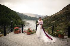 Trelawn Place offers a stunning Queenstown wedding venue in a peaceful riverside location. Luxury honeymoon accommodation and wedding accommodation also available. Wedding Venues, Wedding Dresses, Celebrities, Winter, Places, Fashion, Wedding Reception Venues, Bride Dresses, Winter Time