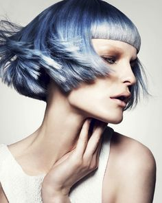 London  Hair | Coiffure: Anna Chapman and Petros Mairoudhiou at Trevor Sorbie | Anna Chapman et Petros Mairoudhiou pour Trevor Sorbie Makeup | Maquillage: Chantelle James and/et Megumi Matsuno Styling | Stylisme: Desiree Lederer, Anna Chapman, Petros Mairoudhiou Photo: Jack Eameshttp://www.canhair.com/collections/?id=4266 #Hair #Style #Fashion #Beauty #Hairstyle #women