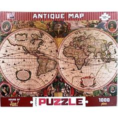 Old world map jigsaw puzzle gumiabroncs