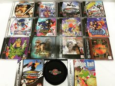 On instagram by ffclassicgaming #dreamcast #microhobbit (o) http://ift.tt/1pwKv3w MINT trade-ins from today. A couple #PS1 games (#VandalHearts!) as well as a super nice stack of #Sega #Dreamcast games: #JetGrindRadio #Shenmue #SkiesofArcadia #SonicAdventure #SonicAdventure2 #SoulCalibur #CraxyTaxi and more. There's also this WICKED SWEET #GameCube game disc holder with the #MetroidPrime logo in it.  #gamesforsale #videogamesforsale #RetroGames #RetroGameStore #videogamestore #videogames…