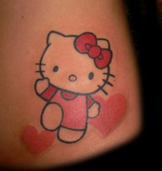 I don't know where I want it yet, but I will have hello kitty tattooed on me!
