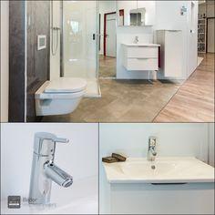 Nächster Halt der WILL Showroom Tour: Bad Nummer 15, bitte aussteigen und begeistern lassen. Wc Sitz, Aluminium, Showroom, Sink, Home Decor, Glass Panels, Tiny Bathrooms, Tub, Sink Tops