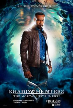 Luke Garroway Shadowhunters TV Poster