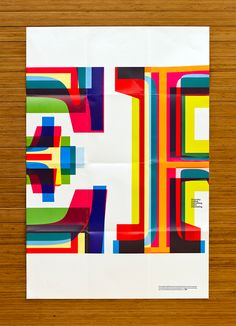 """Typographic poster series promoting the Bill Bernbach Diversity Scholarship. Each of the 24"""" x 36"""" posters were designed using a different technique of layering typography in order to capture the idea that """" Diversity Makes Everything More Interesting"""". A…"""