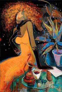 Кокетство, изящество, нежность, утонченность… Женские образы Ирен Шери. | Оригинальное творчество талантливых и увлеченных людей