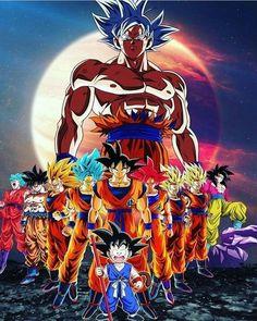 Check out our Dragon Ball merch here at Rykamall now! Dragon Ball Gt, Dragon Ball Image, Gif Naruto, Goku Transformations, Foto Do Goku, Majin, Estilo Anime, Animes Wallpapers, Son Goku