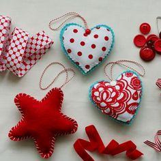 Handmade Christmas Ornaments by Constanca Cabral