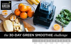 April Challenge: Week #1 Shopping List + Recipes - Simple Green Smoothies