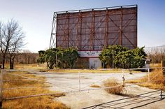 Tee Pee Drive-In, Route 66 near Sapulpa, Oklahoma by lumierefl, via Flickr