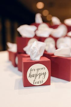 Burgundy & Navy Wedding at Sheraton Station Square. For more ballroom wedding ideas, visit burghbrides.com! #weddingfavors #weddingfavorideas Wedding Favors, Wedding Decorations, Happy Tears, Wedding Inspiration, Wedding Ideas, Ballroom Wedding, Are You Happy, Unique Gifts, Bb