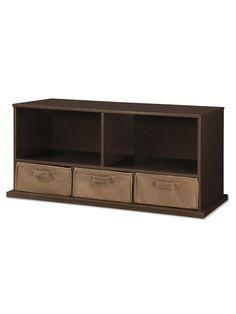 Shelf Storage Cubby With 3 Baskets by Badger Basket on Gilt.com
