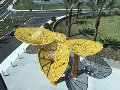 Image 1 of 64 from gallery of Gateway Sculpture at Pembroke Pines / Brooks + Scarpa Architects. Courtesy of Brooks + Scarpa Architects Landscape Elements, Urban Landscape, Landscape Architecture, Landscape Design, Pavillion Design, Shelter Design, Pembroke Pines, Playground Design, Canopy Design
