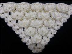 crochet / crochet: Punto en Re … - The GardenersKnitting Models - Butterfly Shawl Model - The construction of the Pearl Butterfly shawl ModelThis Pin was discovered by HUZ Crochet Motifs, Crochet Cross, Crochet Stitches Patterns, Crochet Chart, Cute Crochet, Knitting Stitches, Crochet Designs, Crochet Lace, Knitting Patterns