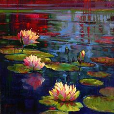 Donna Young-Lily-Pads.jpg (720×721)