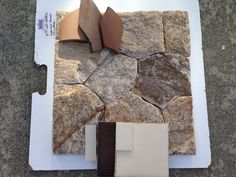 Stone on exterior of house. And for interior features like fireplaces.