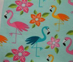 Aloha+Flamingo+BIO+Jersey+-+lillestoff,+GOTS+von+Piet+&+Lotta+-+Stoffe+und+handgemachte+Beutestücke+auf+DaWanda.com