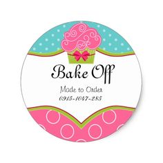 Shop Whimsical Cupcake Bakery Box Seals created by SocialiteDesigns. Personalize it with photos & text or purchase as is! Arts Bakery, Bakery Box, Cupcake Bakery, Personalized Stickers, Custom Stickers, Logo Dulce, Cake Logo Design, Bakery Business, Marble Cake