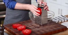 Make An Easy, No-Fuss Tomato Sauce In Minutes via LittleThings.com