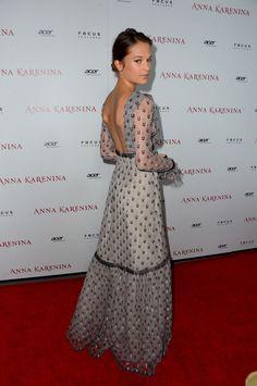 'Anna Karenina' Premiere at ArcLight Hollywood in Hollywood - Nov. 14,2012