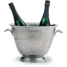 Match Pewter Double Champagne Bucket ($650) ❤ liked on Polyvore featuring home, kitchen & dining and filler