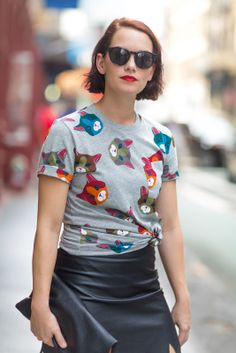 Style Stalking: Hunting The Bold Lip On The Streets #refinery29