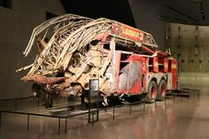 FDNY Ladder 3 Destroyed Fire Engine at 9/11 Museum