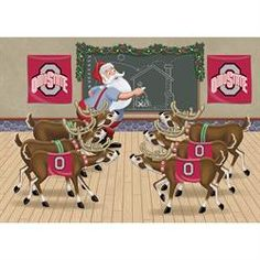 Ohio State Buckeyes Holiday Cards - The Danbury Mint