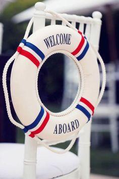 40 ideas para tener una boda de estilo marinero. ¡Toma nota y triunfa! Image: 32