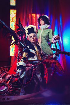 Trinity blood: Abel and Seth cosplay by TaisiaFlyagina on DeviantArt