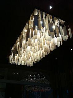 Hyatt Hotel - Abu Dhabi  Boatswain Lighting Light Installation, Abu Dhabi, Bespoke, Porcelain, Chandelier, Ceiling Lights, Sculpture, Lighting, Projects