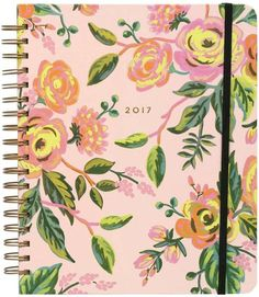Review: Lovely planner and beautifully thought out. I chose the jumbo size.  Rifle Paper Company 2017 Jardin Planner