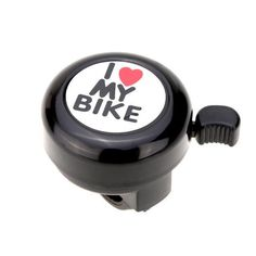 4Color Bicycle Bell I Love My Bike Printed Clear Sound Loud Outdoor MTB Horn Alarm Warning Bell Ring Cycling Accessory Bicicleta