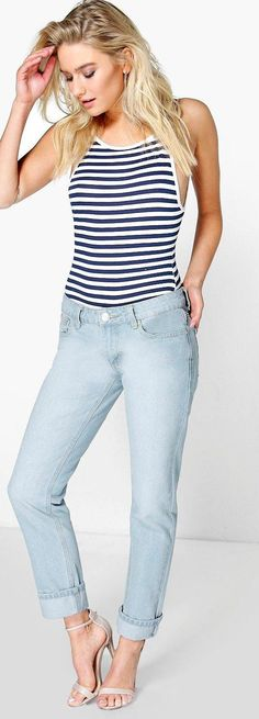 Molly Low Rise Light Blue Mom Jeans - Jeans  - Street Style, Fashion Looks And Outfit Ideas For Spring And Summer 2017