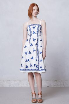 Lidia Embroidered Dress - Anthropologie.com