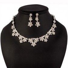 SET bijuterii mireasa colier cercei si tiara placate cu Argint 925 si cristale Jewelry, Fashion, Ear Rings, Schmuck, Moda, Jewlery, Bijoux, Fashion Styles, Fasion
