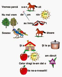 Kindergarten Addition Worksheets, Worksheets For Kids, Kindergarten Activities, Romanian Language, Educational Activities For Kids, Alphabet Worksheets, School Lessons, Kids Education, Homeschool