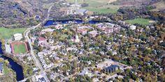 Carleton campus from air